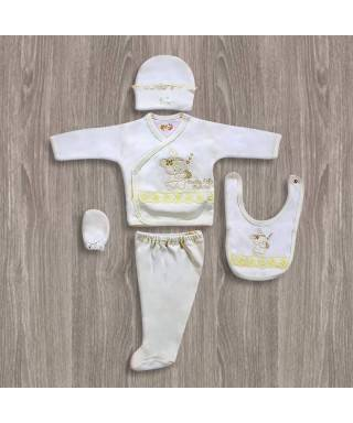 Bebitof Tüllü 5'li Hastane Çıkış Seti