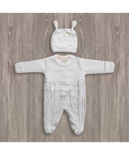 Aziz Bebe Tüllü Bebek Tulumu
