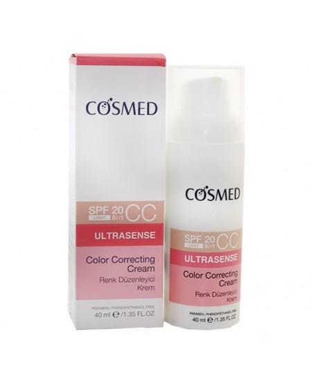 Cosmed Ultrasense Color Correcting CC Cream Spf20 40ml - Light