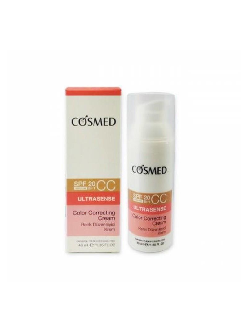 Cosmed Ultrasense Color Correcting CC Cream Spf20 40ml - Medium