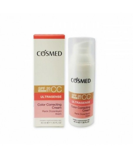 Cosmed Ultrasense Color Correcting CC Cream Spf20 40ml - Medium
