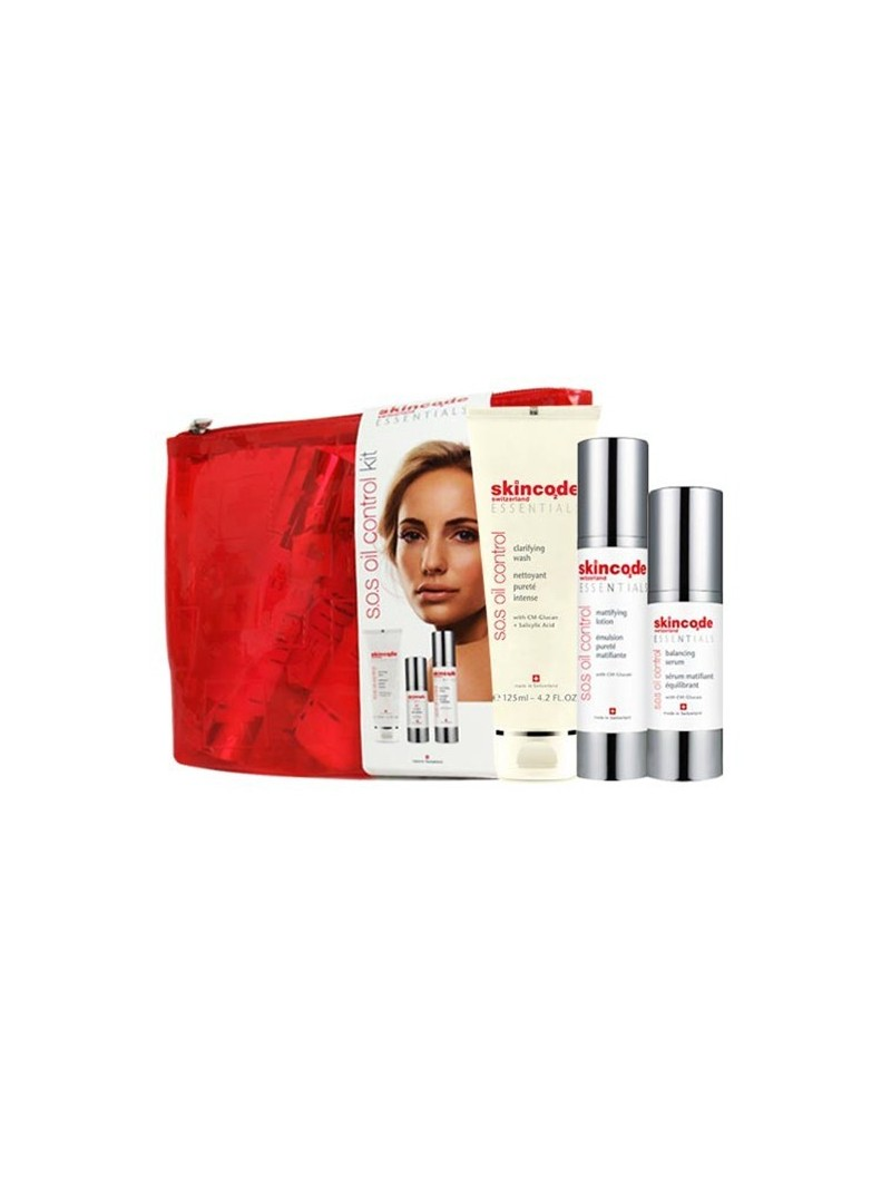 OUTLET - Skincode S.O.S. Oil Control KİT