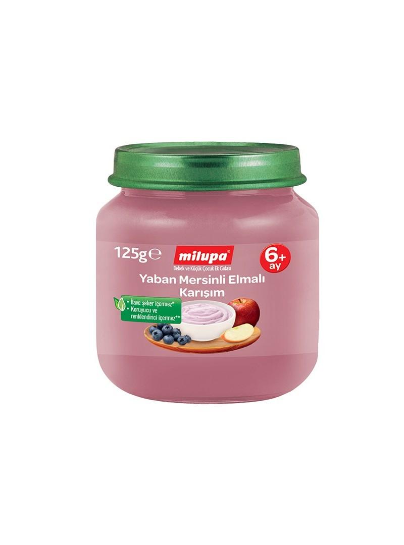 Milupa Yaban Mersinli Elma Karışımı 125 gr