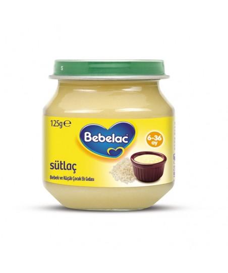 Bebelac Kavanoz Maması Sütlaç 125 gr