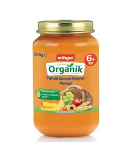 Milupa Organik Tahılları Karışık Meyve 200ml