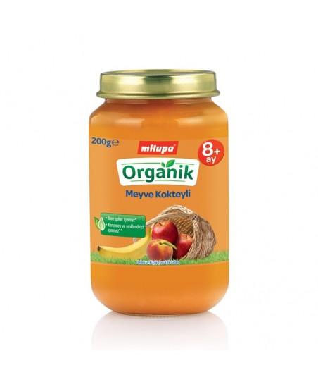 Milupa Organik Meyve Kokteyli 200 gr