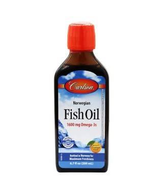 Carlson Fish Oil Balık Yağı Şurup 200ml (Portakal Aromalı)