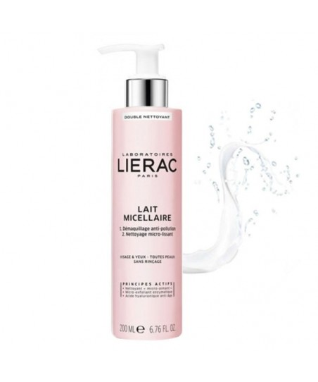 Lierac Double Cleansing Micellar Milk Face&Eyes 200ml
