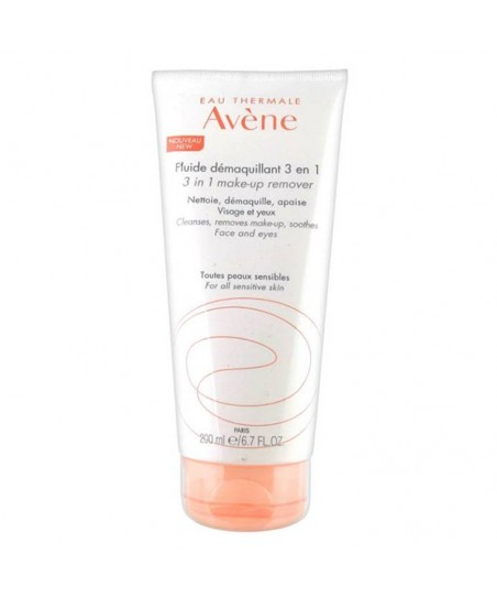 Avene Fluide Demaquillant 3 en 1 Lotion 200ml