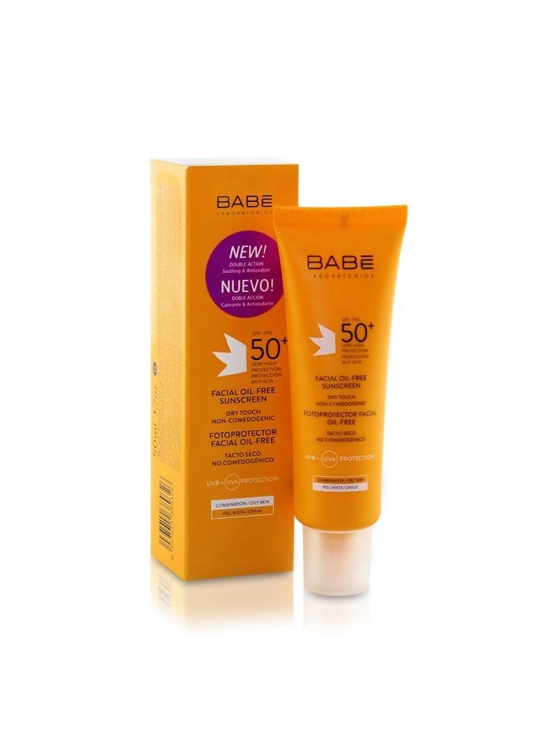 OUTLET- Babe Yüz İçin Yağsız Güneş Koruyucu SPF 50+ Krem 50 ml
