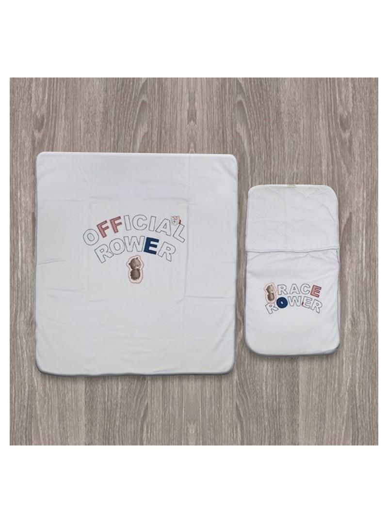 Aziz Bebe Beyaz Alt Açma Takımı