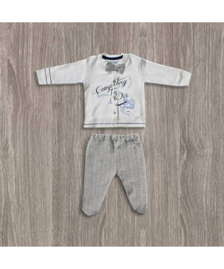 Aziz Bebe Papyonlu 2'li Erkek Takımı