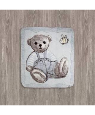Aziz Bebe Welsoft Ayıcıklı Bebek Battaniyesi