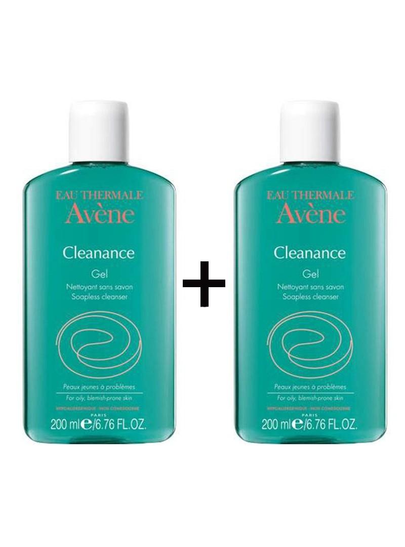 Avene Cleanance Yağlı ve Akneli Ciltler İçin Temizleme Jeli 2x200ml