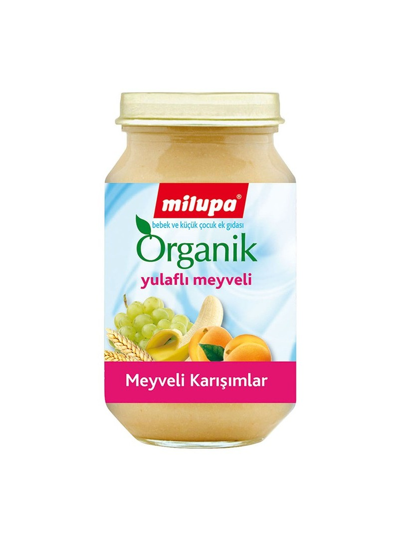 Milupa Organik Yulaflı Meyveli Kavanoz Maması 200 g