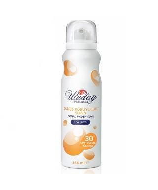 Uludağ Premium Spf 30 Güneş Koruyuculu Cilt Bakım Spreyi 150 ml