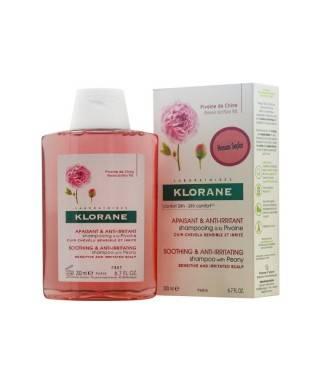 Klorane Şakayık Ekstresi İçeren Tahriş Olmuş Saç Derisi İçin Yatıştırıcı Şampuan 200 ml