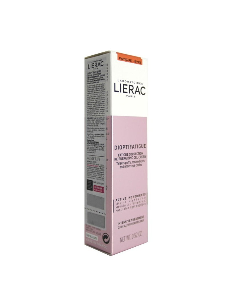 Lierac Dioptifatigue Re-Energizing Gel Cream 15ml