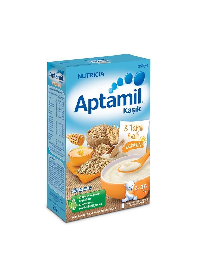Milupa Kahvaltılar 8 Tahıllı Ballı Mama 250 gr.