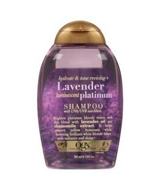 Organix Lavender Luminescent Platinum Shampoo 385ml