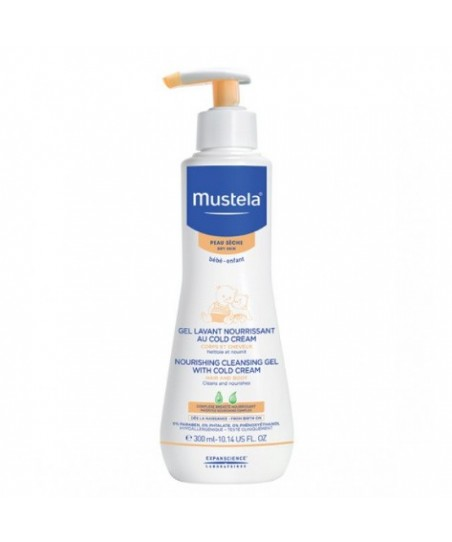 Mustela Cleansing Gel With Cold Cream Nutri Protective 300 ml