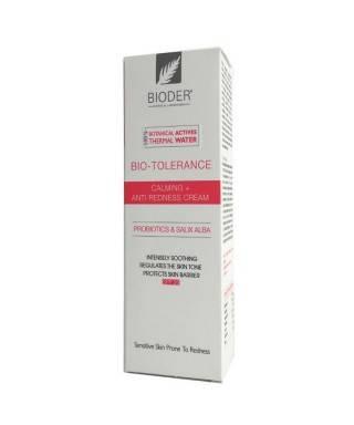 Bioder Bio-Tolerance Toleranssız Ciltler için Kızarıklık Bakım Kremi 30ml