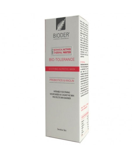Bioder Bio-Tolerance Hassas Ciltler için Yatıştırıcı Maske 75ml