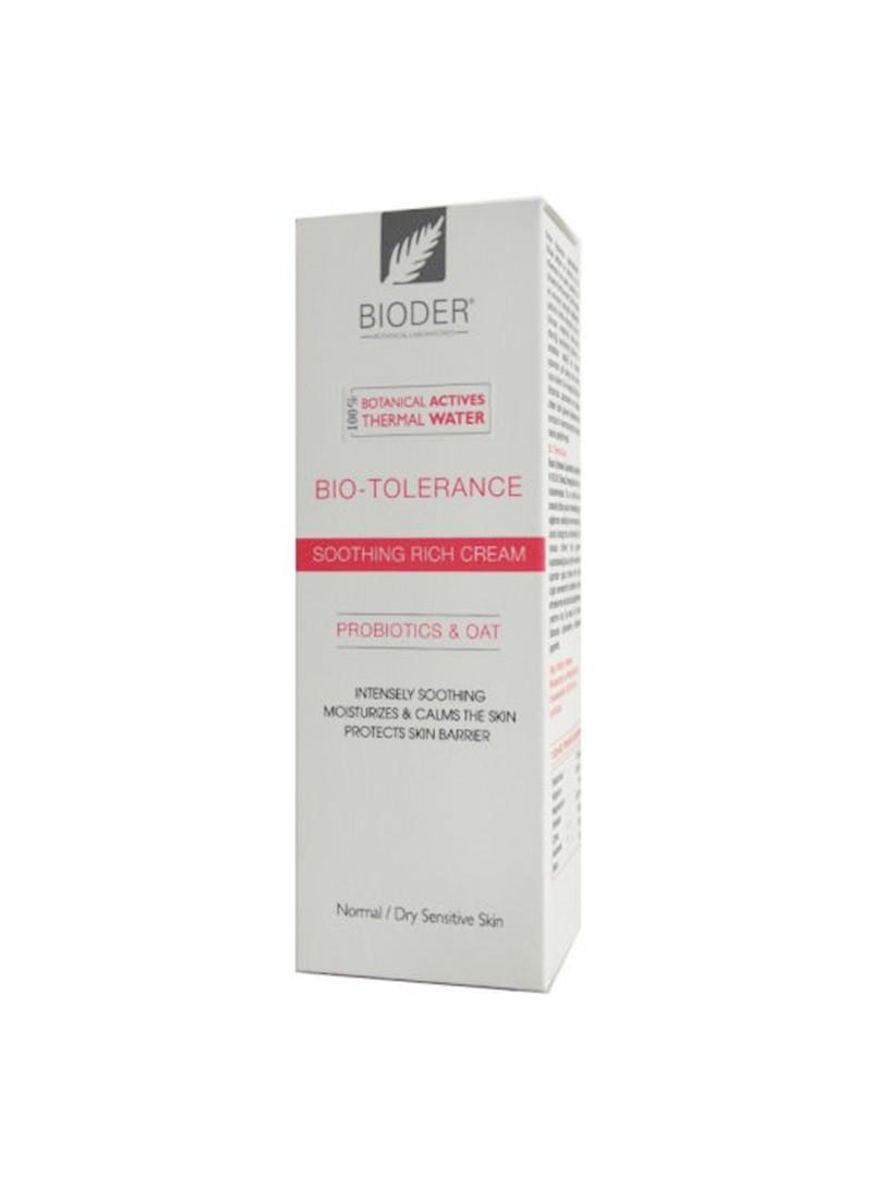 Bioder Bio-Tolerance Kuruya Dönük Hassas Ciltler için Nemlendirici Krem 30ml