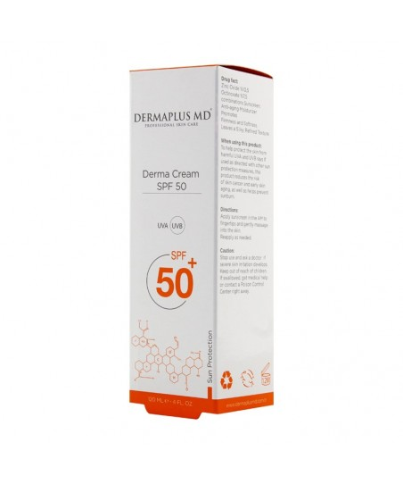 DermaPlus MD Derma Cream SPF 50 - 120ml