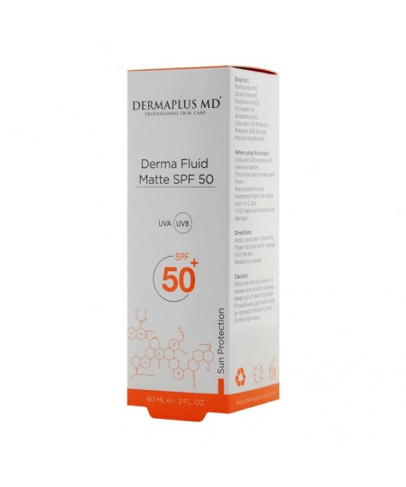 DermaPlus MD Derma Fluid Matte SPF50 - 60ml