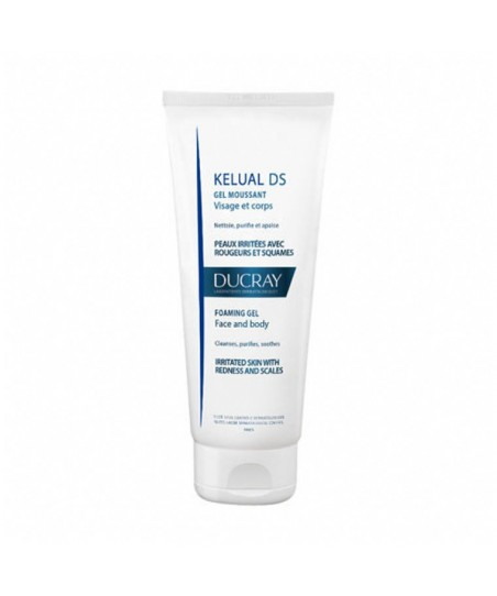 Ducray Kelual DS Face and Body Foaming Gel 200ml