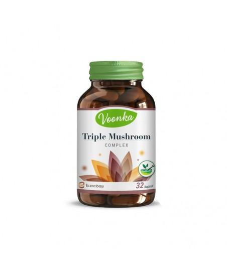 Voonka Triple Mushroom 32 Kapsül