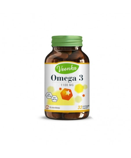 Voonka Omega 3 Yumuşak Kapsül 32 Adet