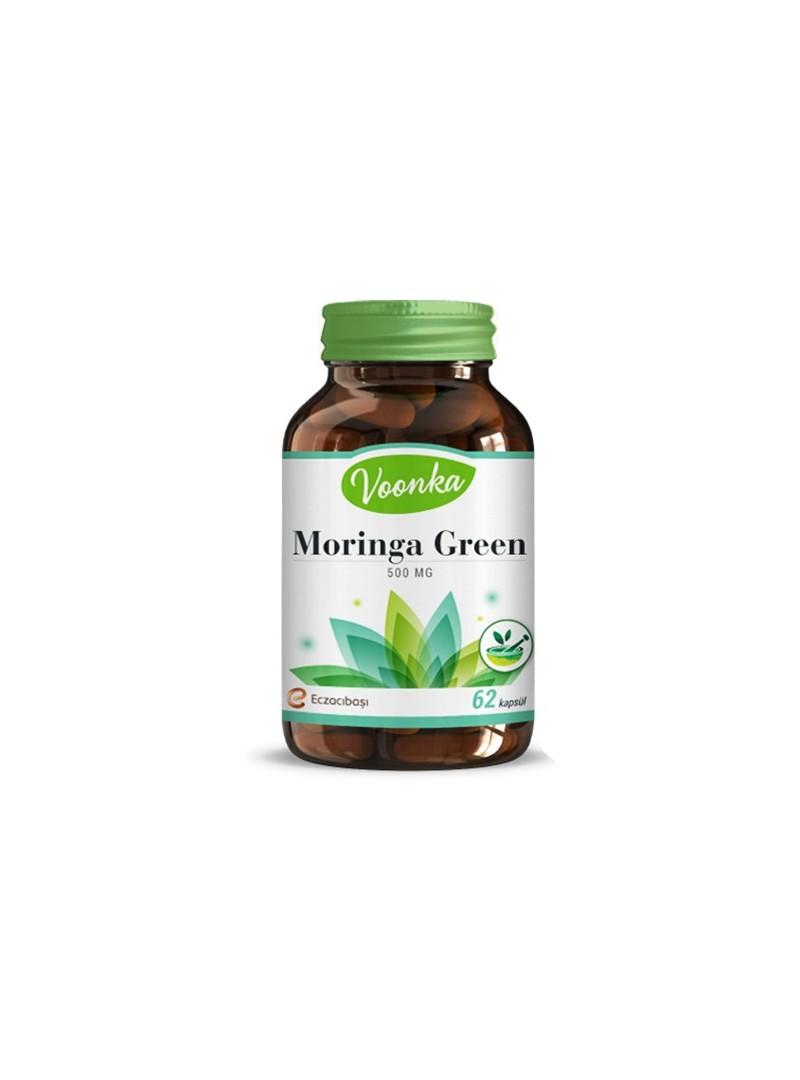 Voonka Moringa Green 62 Kapsül