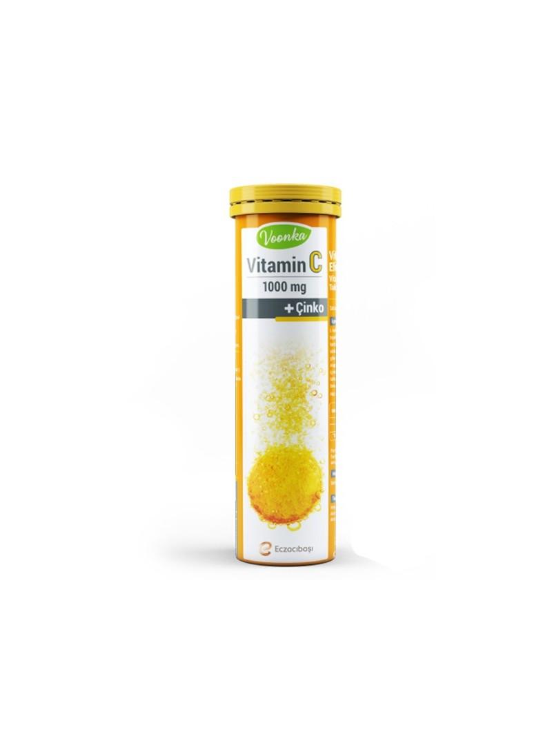 Voonka Vitamin C 20 Efervesan Tablet