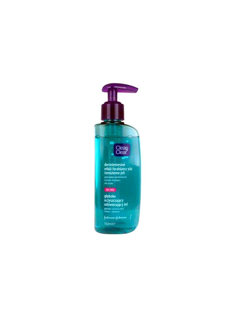 Clean & Clear Derinlemesine Etkili Ferahlatıcı Yüz Temizleme Jeli 150 ml