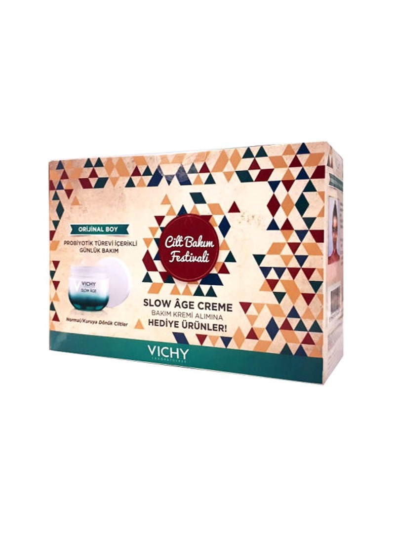 Vichy Slow Age Creme Cilt Festival Kiti