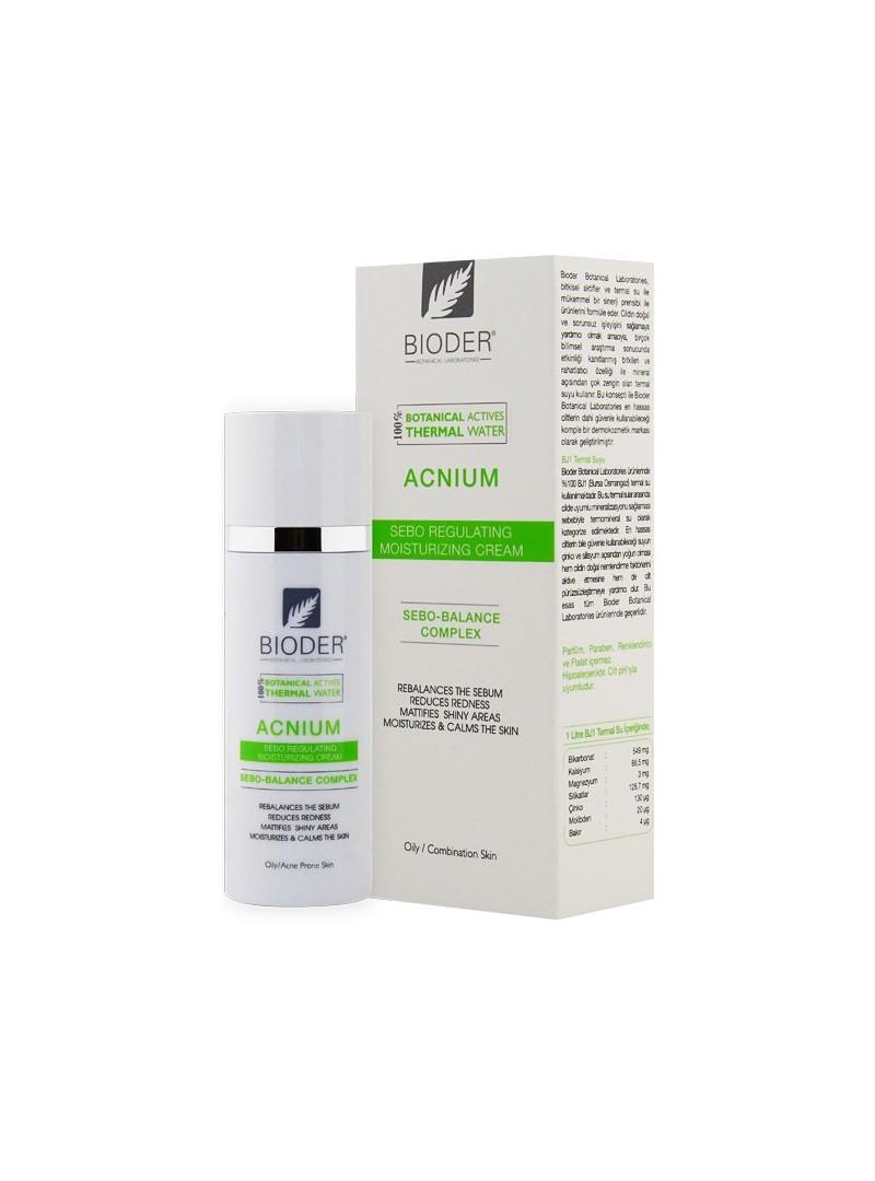 Bioder Acne Clean-Nemlendirici Krem 30ml