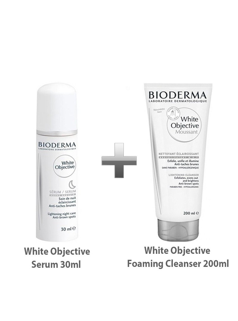 Bioderma White Objective Serum 30ml+Bioderma White Objective Foaming Gel Moussant 200 ml