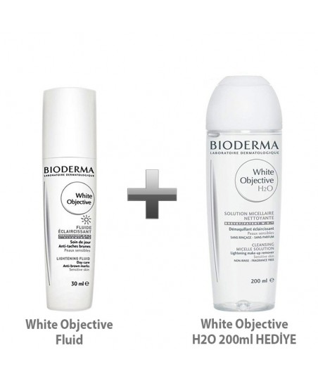Bioderma White Objective Fluide 30ml + Bioderma White Objective H2O