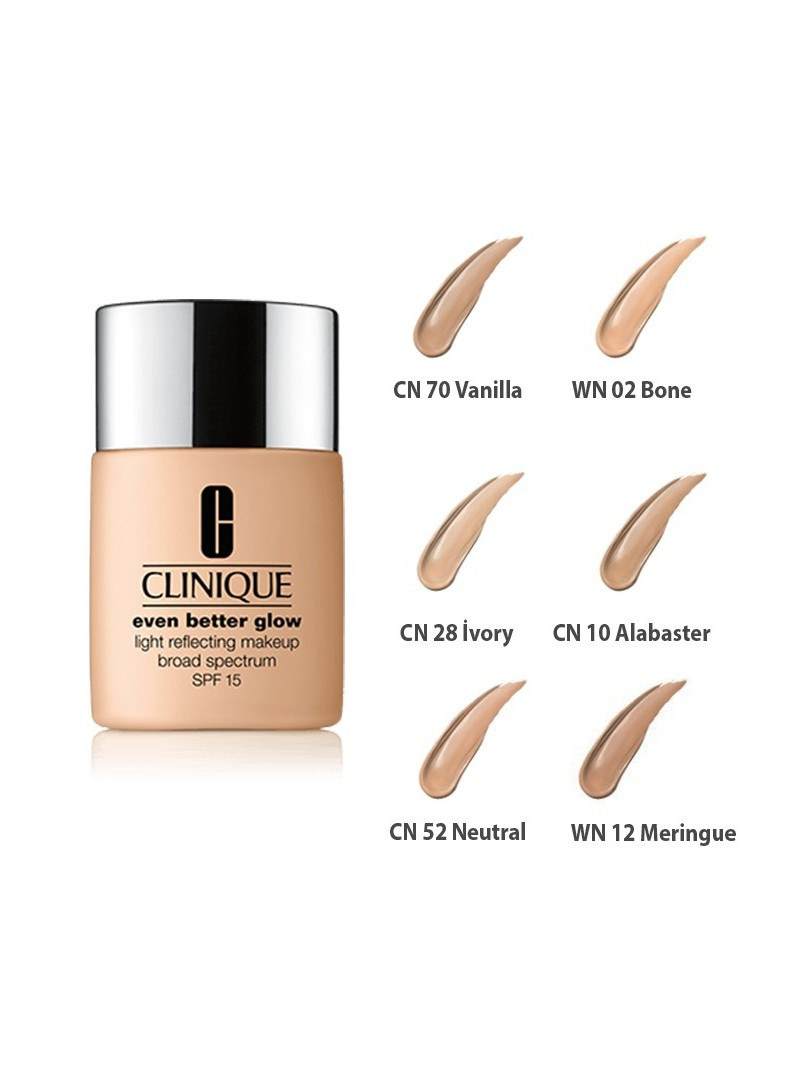 Clinique Even Better Glow Makeup Fondoten SPF 15 - 30ml