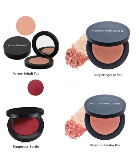 Youngblood Pressed Blush Compact Mineral Allık 3g