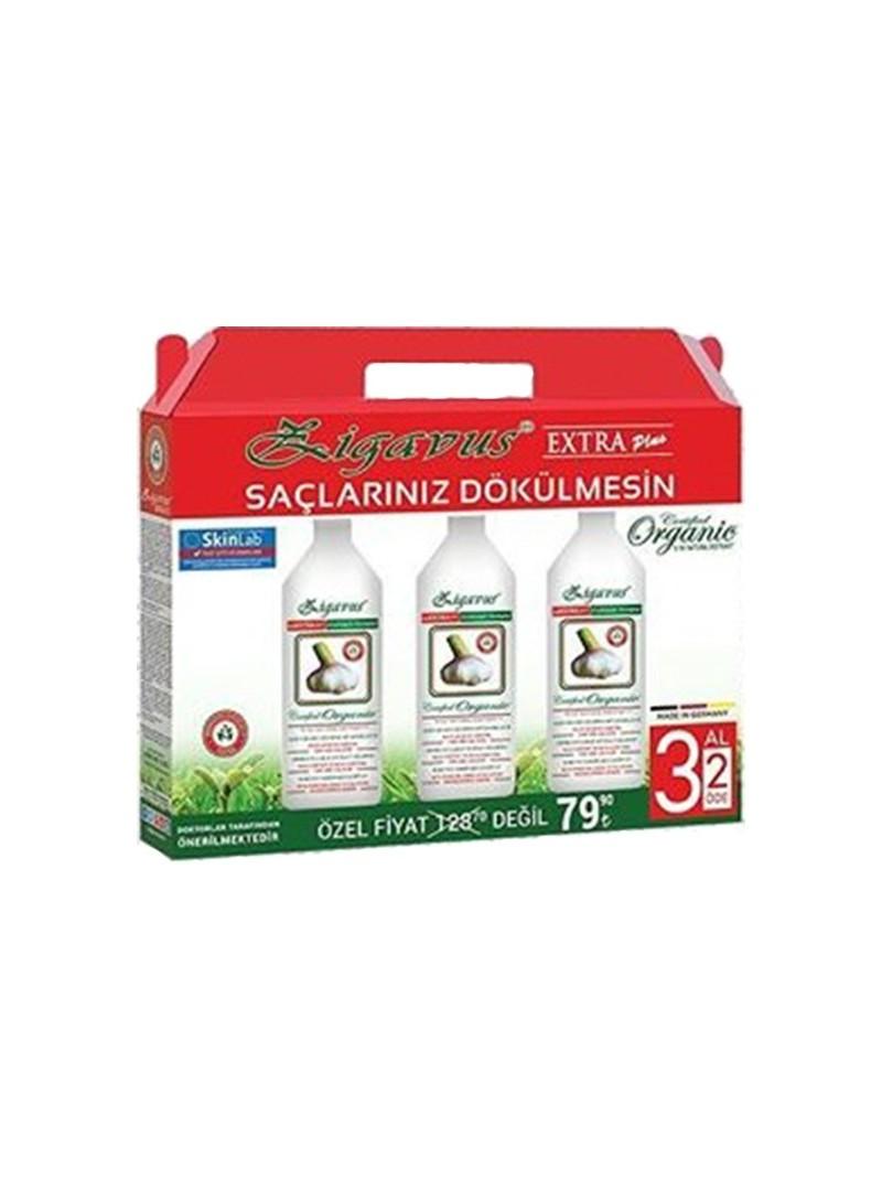Zigavus 3 Al 2 Öde Extra Plus Sarımsak Kofre Paket 3*250ml