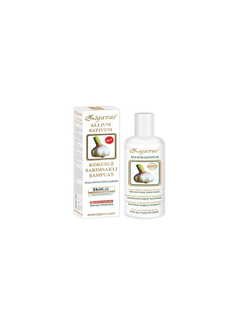 Zigavus Kokusuz Sarımsak Ekstraklı Şampuan 250 ml