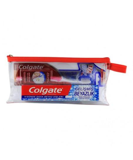 Colgate Seyahat SETİ-Çanta ve Saklama Kabı HEDİYE