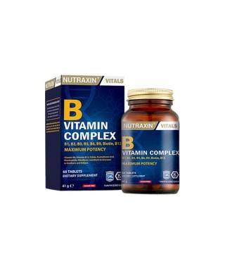 Nutraxin B Vitamin Complex 60 Kapsül