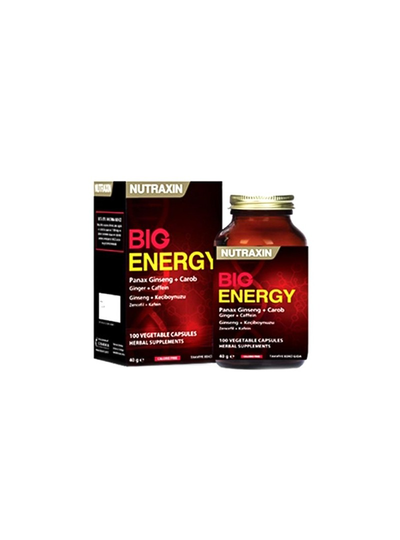 Nutraxin Big Energy 100 Kapsül