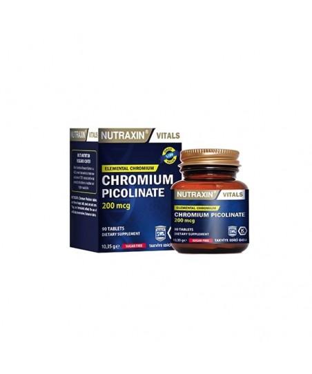 Nutraxin Chromium Picolinate 90 Kapsül