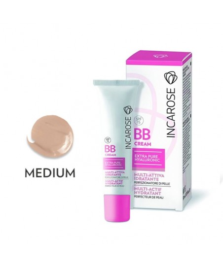 Incarose BB Cream Hyaluronic SPF15 30ml