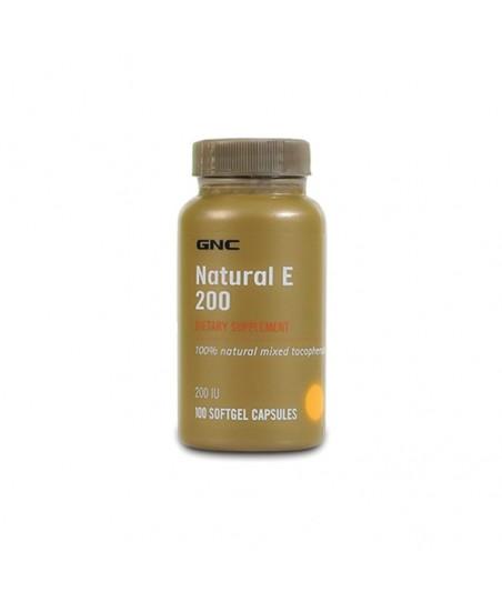 GNC Natural E Vitamini 100Tablet